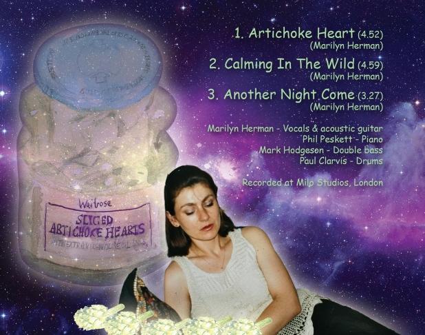 Marilyn Herman CD back cover