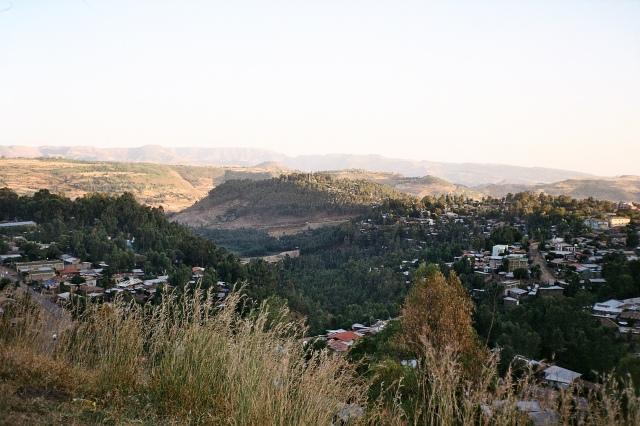 Gondar from Goha